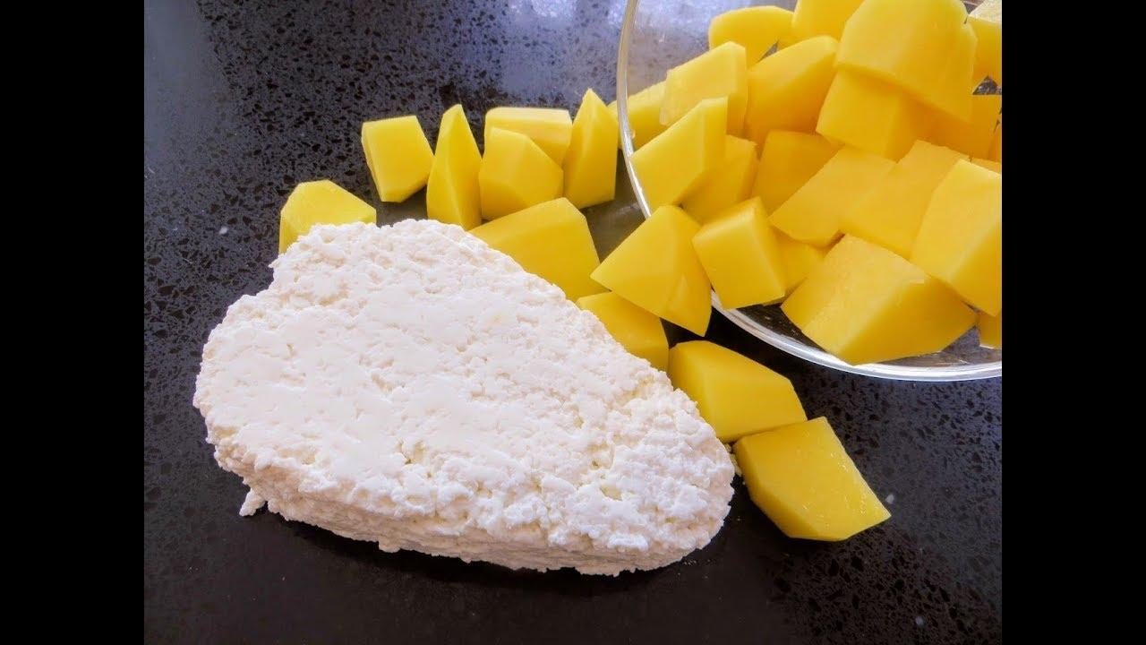 Пачка творога и картофель - отличное решение для перекуса / Любимые картофельные оладьи нашей семьи
