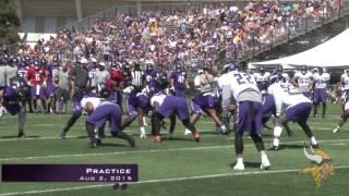 Minnesota Vikings Aug 2nd Practice
