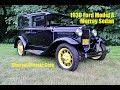 1930 Ford Model A Murray Sedan.  Charvet Classic Cars