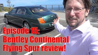 2006 Bentley Continental Flying Spur - Test Drive and Review