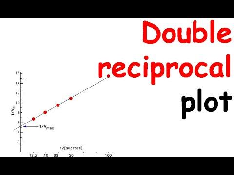 Double reciprocal plot  YouTube