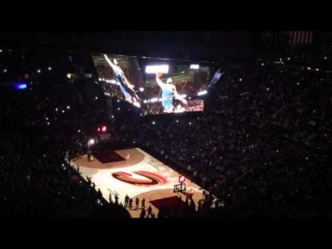 Cleveland Cavaliers 2015-2016 home opener intros