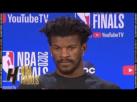 Jimmy Butler Postgame Interview - Game 4   Lakers vs Heat   October 6, 2020 NBA Finals