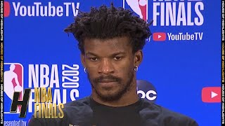 Jimmy Butler Postgame Interview - Game 4 | Lakers vs Heat | October 6, 2020 NBA Finals