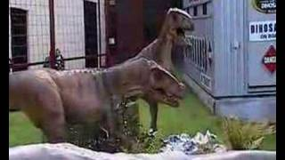 Animatronic Dinosaurs in devon( the real jurassic park )