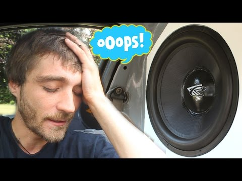 "EXO's BASS F*** UP... Metering Two 18"" Contralto Subwoofers 