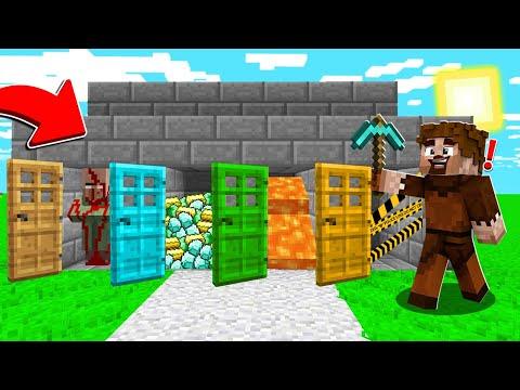 FAKİR GİZEMLİ SÜRPRİZ KAPILAR BULDU! 😱 - Minecraft