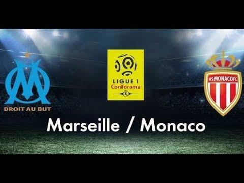 Marseille - Monaco [2 - 2]  - Match en Direct