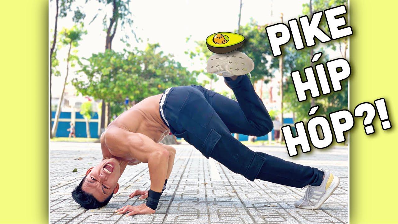 Hướng Dẫn Tập Vai với Pike Push Up - Pike Push Up Tutorial.