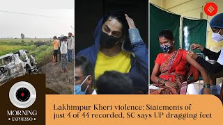 Indian Express Today Oct 21: India Hits 100 Crore Jab Milestone, Lakhimpur Kheri Violence, and more