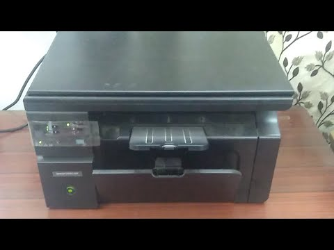 Live Photocopying  in HP Laserjet Pro M1136 Multifunction Printer (Hindi) (Live Video)