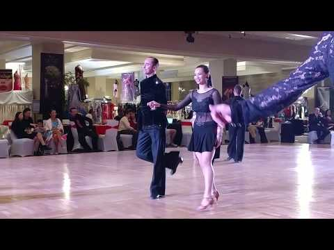 Vegas Open Dance Challenge 2018 Scholarship - Dallys and Mariusz - Int'l Latin Silver