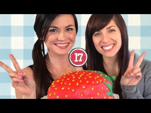 Strawburry17 Cake   How to Bake it in Hollywood with Ashley Adams