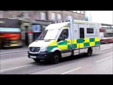 [Collection] Scottish Ambulance Services (NHS Scotland) responding in Edinburgh
