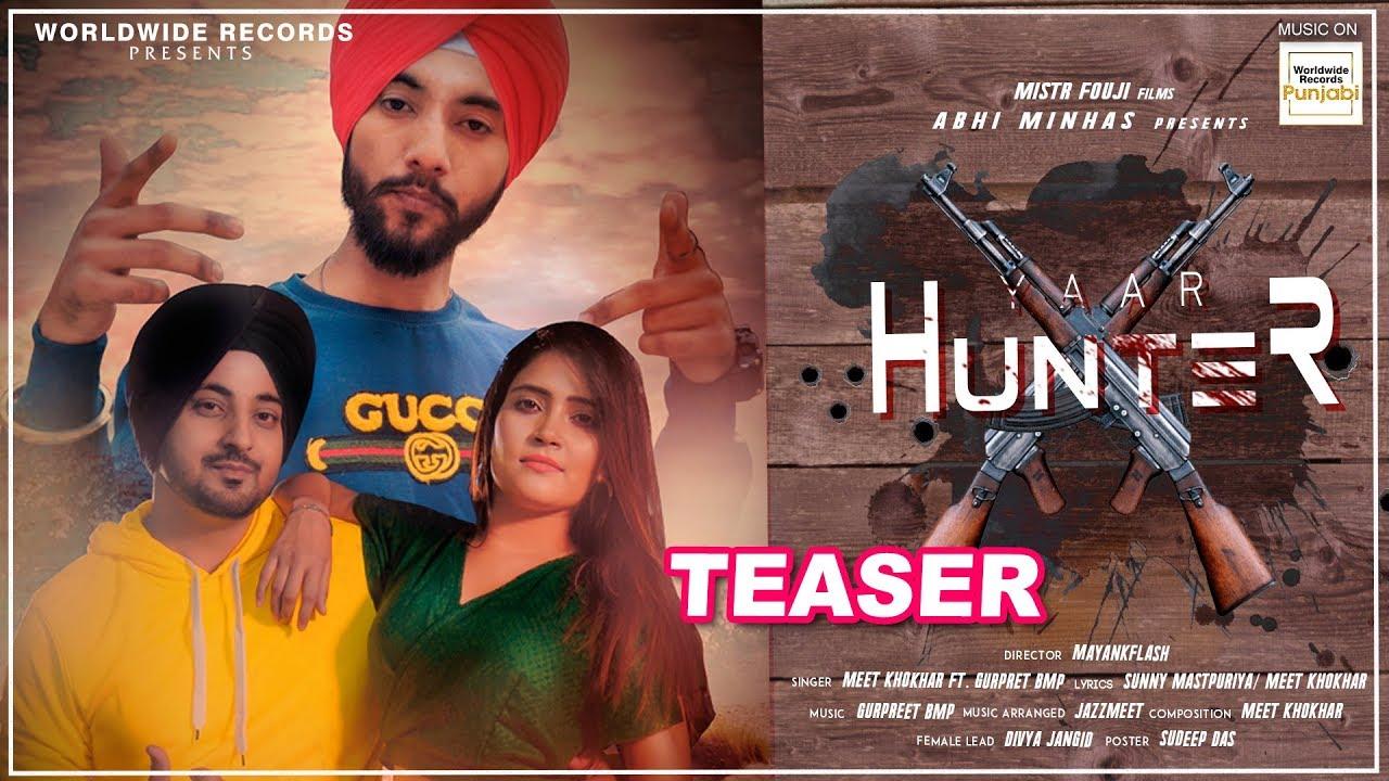 Yaar Hunter - Song Teaser | Meet Khokhar, Ft. Gurpreet Bmp | New Punjabi Songs 2020 (NewSongsTV.com)