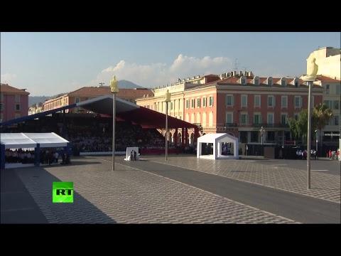 Les cérémonies commémoratives de Nice (Direct du 14.07)