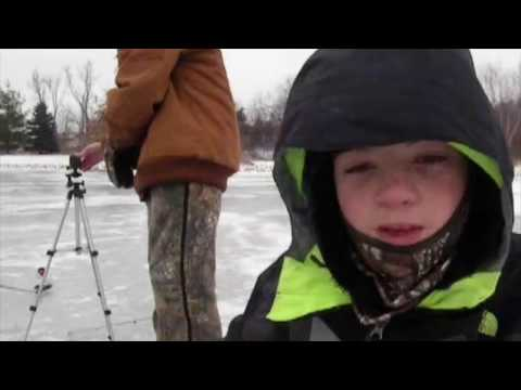 Old Lady Calls The Association Cause Were Ice Fishing!!!