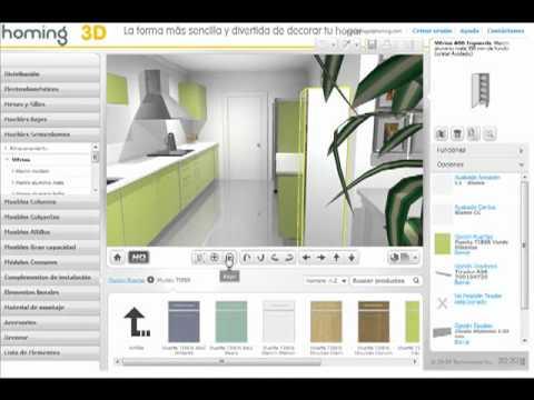 crea y dise a en 3d tu propia cocina con