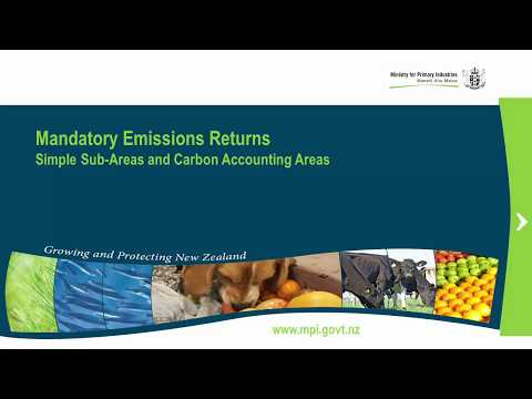 3 - Emissions Trading Scheme (Forestry) - Simple Sub-areas and Carbon Accounting Areas