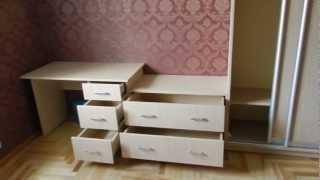 Стенка в спальню от Starmebli(Хорошую и качественную мебель Вы можете подобрать и заказать на нашем сайте starmebli.kiev.ua., 2013-04-05T11:30:18.000Z)