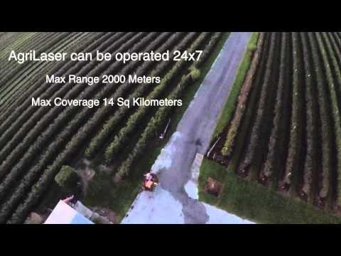 Bird Control US - AgriLaser Test