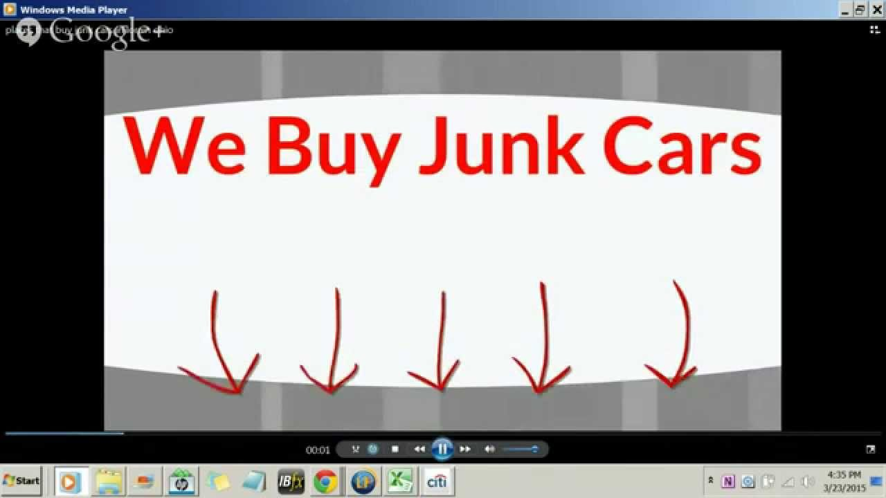 Places that buy junk cars in lorain ohio | Call 555-555-5555 - YouTube