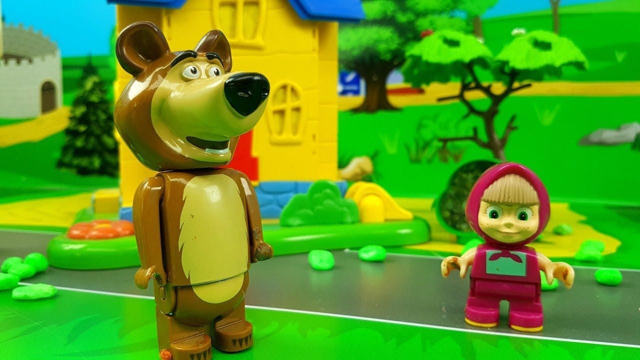 🐻 masha e orso 🐻 tutti gli episodi mascia e orso si divertono