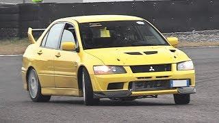 WRCTeam.it Track Day Franciacorta Circuit - Sierra Cosworth, Impreza S12 WRC Replica, 106 Turbo!