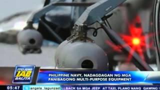 Philippine Navy, nadagdagan ng mga panibagong multi-purpose equipment
