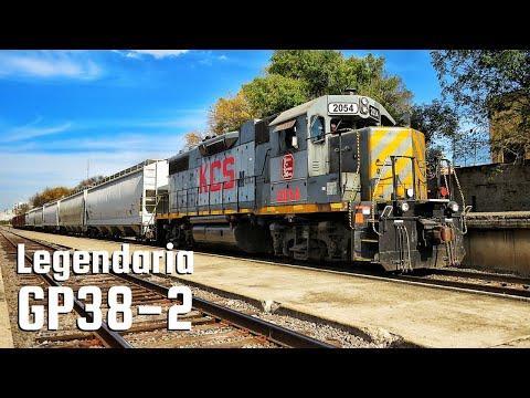 Conociendo el ferrocarril: EMD GP38-2
