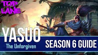 League of Legends Yasuo Guide | Season 6 | Patch 6.11