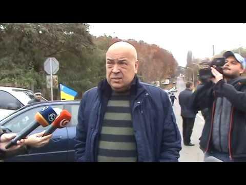 "Пересічка: інтерв'ю у Г.Москаля на кпп ""Ужгород"" час1"