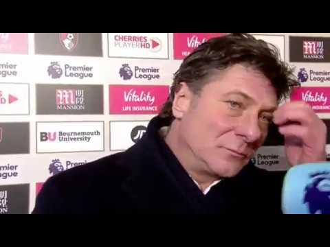 Bournemouth 2 - 2 Watford- Walter Mazzarri And Eddie Howe Post Match Interview