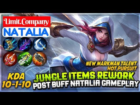 Jungle Item Rework, Post Buff Natalia Gameplay [ Natalia Limit Company ] Limit.Company Natalia