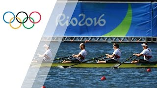 Rio Replay: Men's Quadruple Sculls Final