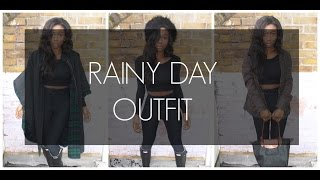 RAINY DAY/ WINTER  OOTD Thumbnail
