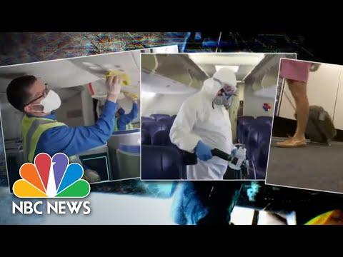 Struggling Airline Industry Hopes Covid Protocols Will Restore Customer Confidence | NBC News