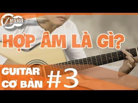 Hướng dẫn CƠ BẢN NHẤT về HỢP ÂM   Tự học Guitar #3   @Thuận Guitar