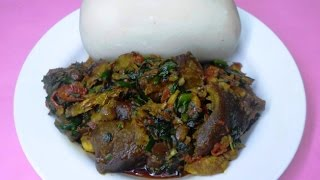 my efo riro soup stew video