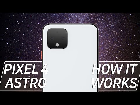 Pixel 4 Astrophotography is NUTS.  Here's how it works.
