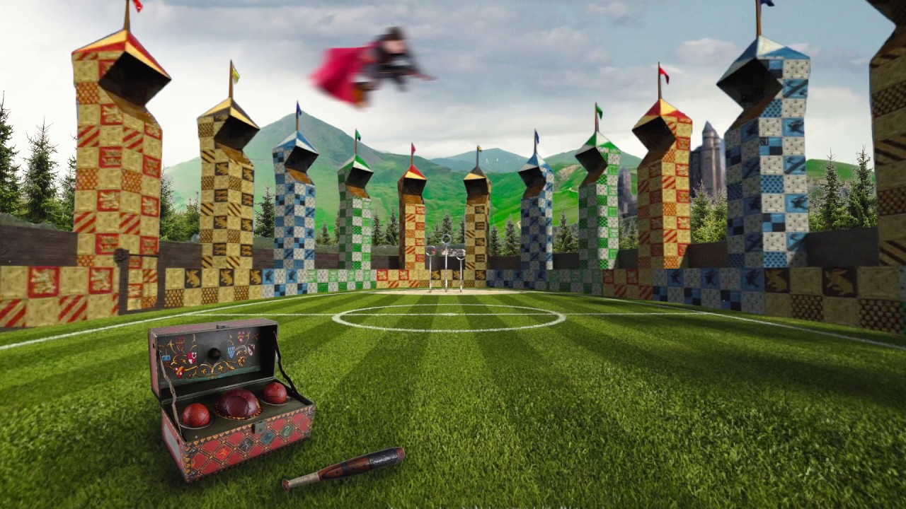 Harry Potter Quidditch Feld