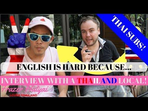 ภาษาอังกฤษ ทำไมถึงยากสำหรับคนไทย - Interview with Thai/English Teacher Rati