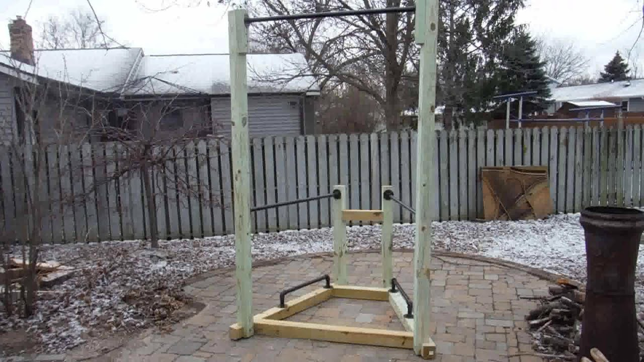 How to build a simple backyard bodyweight gym youtube for How to find a good builder in your area