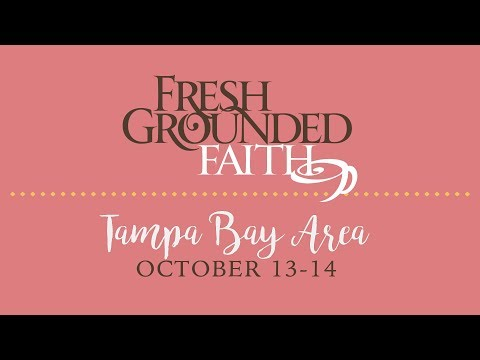 Fresh Grounded Faith - Tampa Bay, FL - Fri-Sat, Oct 13-14, 2017 - 60sec promo