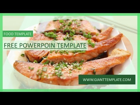 Free Powerpoint Template Food Presentation Free