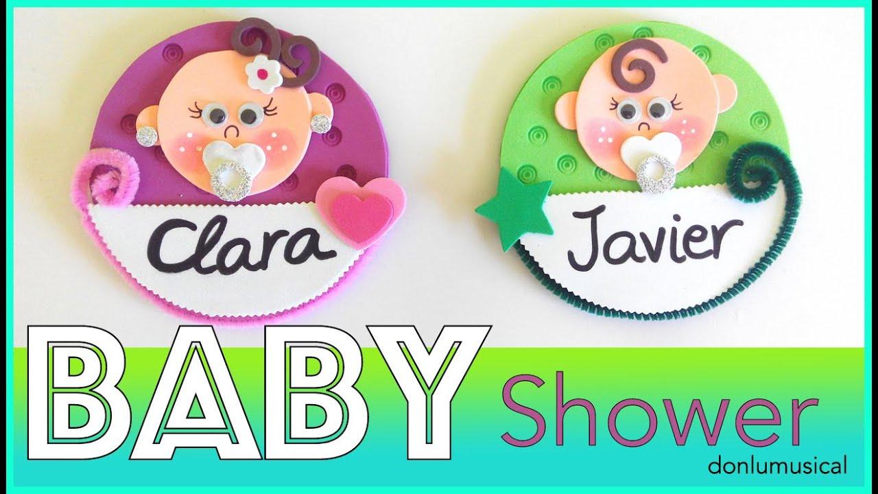 Baby Shower Manualidades Recuerdos ~ Diy baby shower bautizo ideas regalos manualidades