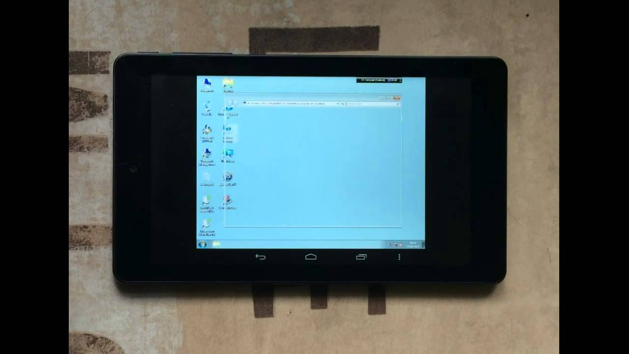 How To Install Windows 7 On Android Tablet [Video Tutorial