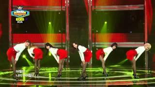 AOA - Miniskirt, 에이오에이 - 짧은 치마, Show Champion 20140122