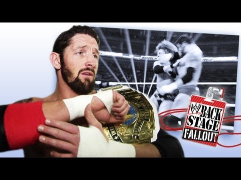 Backstage Fallout - SmackDown - Everyone Falls To The Bull Hammer - April 26, 2013