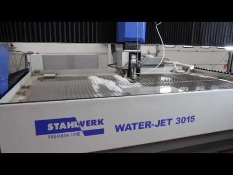 KNUTH Stalhwerk Waterjet 3015